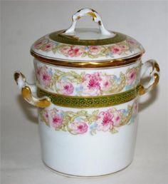 Limoges-Elite-France-Condensed-Milk-Container-Roses
