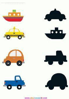1 million+ Stunning Free Images to Use Anywhere Preschool Learning Activities, Kindergarten Worksheets, Toddler Activities, Preschool Activities, Transportation Theme Preschool, Kids Education, Matching Worksheets, Free Images, Check