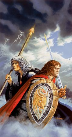 Larry Elmore - Test of the Twins - Dragonlance