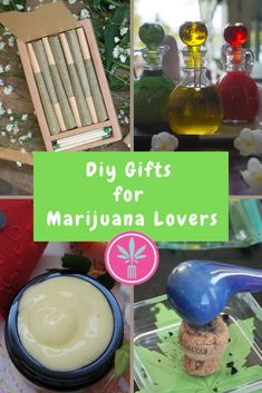 Easy to Make DIY Holiday Gifts for Marijuana Lovers. Collections of quick and easy to make gifts for the cannabis lovers in your life. Weed Recipes, Marijuana Recipes, Cannabis Edibles, Marijuana Facts, Medical Marijuana, Weed Facts, Diy Gifts For Christmas, Lotion Bars, Herbalism