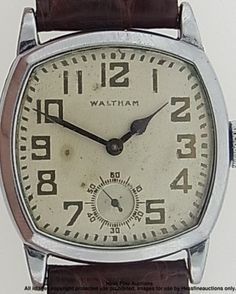 old waltham wrist watches