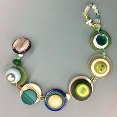 """Lillian's """"We Love Green"""" Bracelet"""
