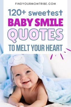 Over a hundred of the most heart-warming baby smile quotes to describe the wondrous smile of your baby boy or little girl. Newborn Baby Quotes, Cute Baby Quotes, Baby Girl Quotes, Baby Boy Newborn, Baby Captions, Father And Baby, Baby Smiles, Wishes For Baby, Daughter Quotes