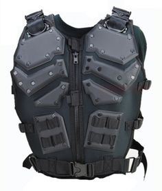 Black Tactical Airsoft Paintball Gi Joe Light Body Armor ST91B MOLLE Vest Adult | eBay