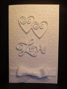 The Cricut Bug: Sweethearts  Congratulations Love