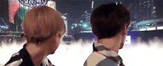 Jungkook and Tae gif
