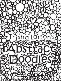 Abstract Doodles Coloring Book 4 by AbstractDoodles on Etsy, $8.00