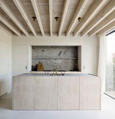 Interior S, Interior Design Kitchen, Interior Architecture, Open Plan Kitchen Living Room, Open Kitchen, Kitchen Island, Custom Home Builders, Custom Homes, Minimal House Design