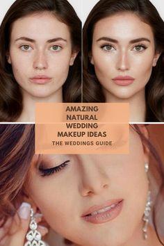 Natural Weddings Makeup Ideas #naturalmakeupideas Best Wedding Makeup, Natural Wedding Makeup, Natural Makeup, Makeup Inspiration, Amazing, Natural Make Up, No Makeup Looks, Natural Makeup Looks