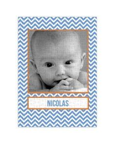 Merry Mod - 252 Piece Personalized Puzzle