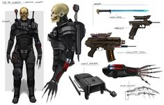 cheekimebreeki: Eversor Assassin Concept by faithofthewild