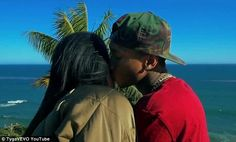 Steamy video: Kylie Jenner kisses rapper Tyga in the new video for his explicit song Stimulation
