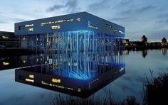 The Aluminum Forest @ Houten, Netherlands (2001)  by Micha de Haas, Amsterdam ALUCOBOND®, Silver Metallic