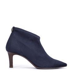 #zapatos #botín #tacón de la nueva colección #AW de #pedromiralles en color #azul #shoponline