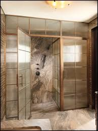 Image result for unique designs glass shower doors