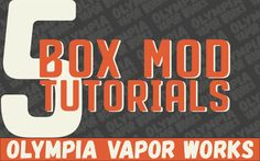 How to Build a Custom Box Mod - We show you 5 High Quality build tutorials, Learn how to build DNA Box Mod | VV with Ohms Readout | Dual 18650 Unregulated