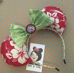 Lilo & Stitch Inspired - Minnie Mouse Disney Ears Source Instagram @judyandpark