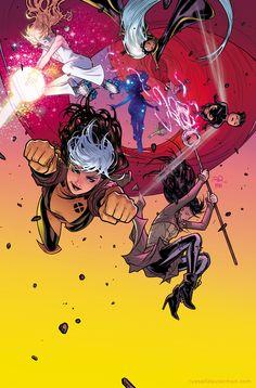 A-Force #1 cover by RDauterman.deviantart.com on @DeviantArt