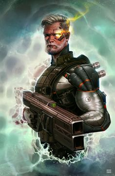Cable Time Travel – Marvel's Cable fan art by Dave Keenan View Original Source Here Arte Dc Comics, Marvel Comics Art, Marvel X, Marvel Heroes, Marvel Films, Comic Book Artists, Comic Books Art, Comic Art, Cable Marvel
