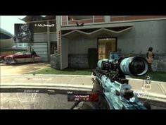 "QUICK SCOPE ""1v4 Rage"" ""Let's Go"" Black ops 2 Nuke Town Ballista Gameplay - YouTube"