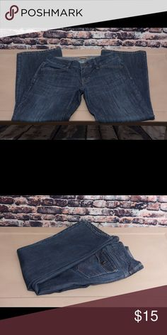 Gap boot cut jeans Great pair of Gao boot cut jeans.  Dark wash in excellent condition. Sz 6A GAP Pants Boot Cut & Flare