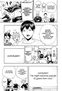 You are reading Haikyuu Chapter 199 in English. Read Chapter 199 of Haikyuu manga online. Kenma Kozume, Oikawa, Kageyama, Haikyuu Funny, Haikyuu Manga, Tanaka Ryuunosuke, Watch Haikyuu, It's Over Now, Bokuaka