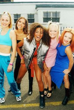 Spice Girls Posh Scary Sporty Ginger Baby 24x36 Poster