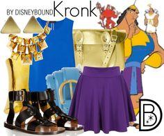 Disney Bound: Kronk (The Emperor's New Groove) Disney Bound Outfits Casual, Disney Themed Outfits, Cute Outfits, Disney Character Outfits, Character Inspired Outfits, Disney Inspired Fashion, Disney Fashion, Disney Dress Up, Disney Clothes