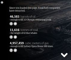 Check how much fossil fuel has been used in your lifetime? #keepitintheground http://www.theguardian.com/environment/ng-interactive/2015/apr/10/how-much-fossil-fuel-are-we-using-right-now …