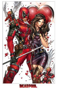 #DeadpoolCore's Jamie Tyndall is shipping Deadpool and Vanessa. Like super hard.