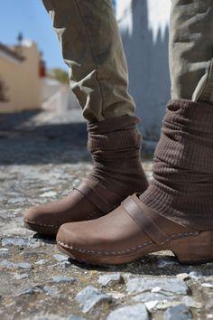 Sandalias de tacón - Originales de Suecia - Zuecos clásicos - Zapatos Mujer