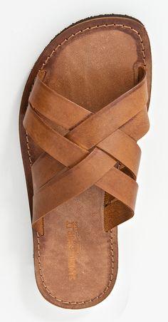 Sandalias artesanales de cuero y piel curtida por #sandalishop