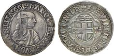 NumisBids: Nomisma Spa Auction 50, Lot 329 : SAVOIA Carlo I (1482-1490) Testone – MIR 228 AG (g 9,63) RR...