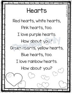 5 Valentine S Day Poems For Kids