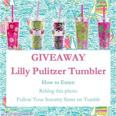 lilly pulizer tumblers on tumblr lol