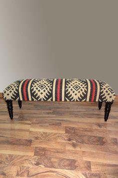 Nuloom Aztec Wooden Bench: crazy sale