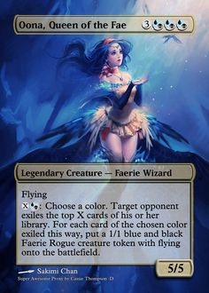 Magic Proxies!  My commander ;3 Update: I finally found the artist for this! I'm so glad I did, I love Teysa too much for her to go unnamed!
