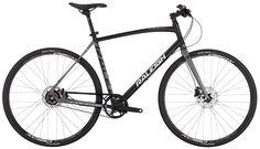 6061 alu frame, carbon fork, Shimano BR-M396 hydraulic disc brakes, Shimano Alfine 8, Gates Center Track BELT! 700x35c rim. Perfect winter bike?