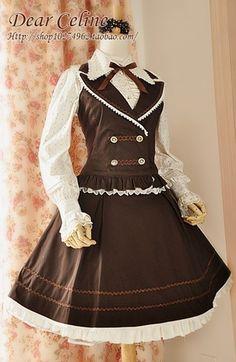 고스로리 프릴 드레스