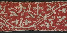Embroidery, Italy, 16th century, Textiles; Embroidery | LACMA Collections