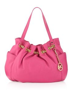 Michael Kors Jet Set Chain Ring Tote Zinnia >>> To view further for this item, visit the image link.