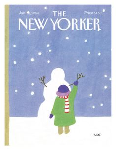 The New Yorker Cover - January 30, 1984 Premium Giclee Print