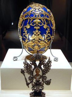 The Tsarevich Egg is a Fabergé egg, one in a series of fifty-two jewelled eggs made under the supervision of Peter Carl Fabergé. It was created in 1912 for Empress Alexandra Fyodorovna as a tribute by Faberge to her son the Tsarevich Alexis (Alexei).