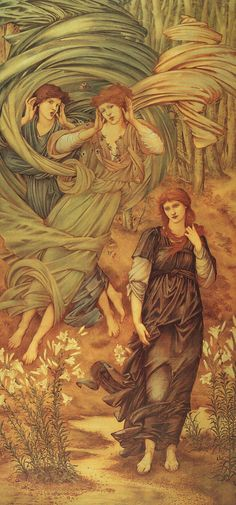 Edward Burne Jones  The Bride of Lebanon