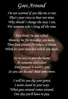 Do you believe in Karma? Don't waste time on revenge, The people who hurt you will eventually face their own karma. These 26 Inspirational Karma Quotes will enlighten your life. Narcissistic Husband, Narcissistic Abuse, Wisdom Quotes, True Quotes, Qoutes, Karma Quotes Truths, Quotes About Karma, Quotes Quotes, Blame Quotes