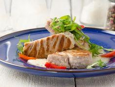 Thunfischsteaks+mit+Weißwein-Rucola-Sauce