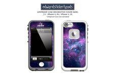 Lifeproof Case Lavender Nebula Pattern by edwardstickerhands, $10.00