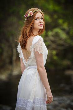 O vestido de noiva de Maria Isis novela Imperio