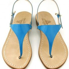 Capri sandals Live tour Italy. Dea Sandals collection www.sandalscapri.com