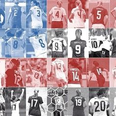 USWNT... abby wambach is number 20!! YES!!! THATS MY NUMBER TOO